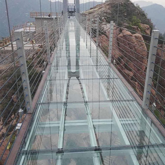 陕西玻璃吊桥
