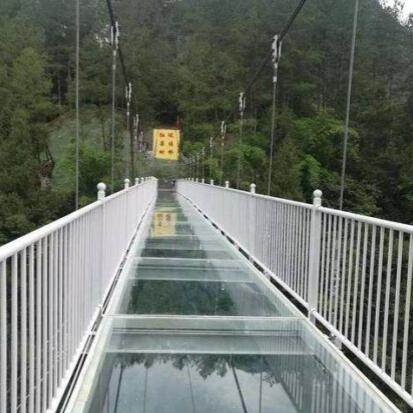 景区玻璃吊桥定制
