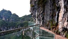 高空玻璃吊桥设计