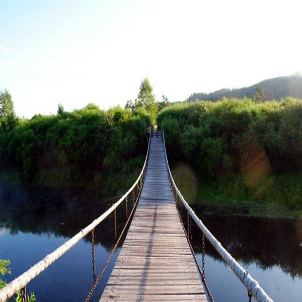 陕西木质吊桥