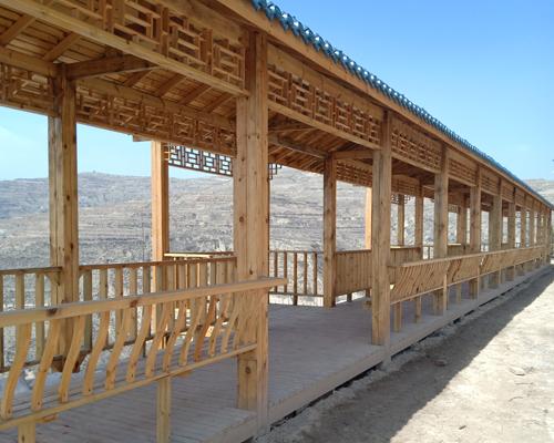 景区防腐木长廊