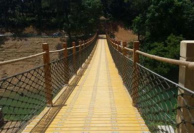 景区吊桥安装
